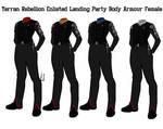 Terran Rebellion Enlisted Crew Body Armour Female