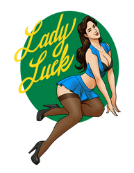 Lady Luck by docwinter
