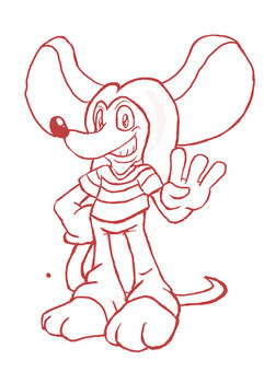 Sketch: Red the Mouse