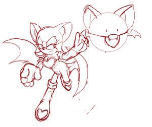 Bat Cracker Sketch