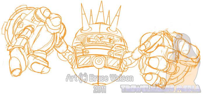 'Big Arm' Sketch