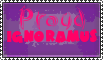 proud of ignorance by stamploveyou