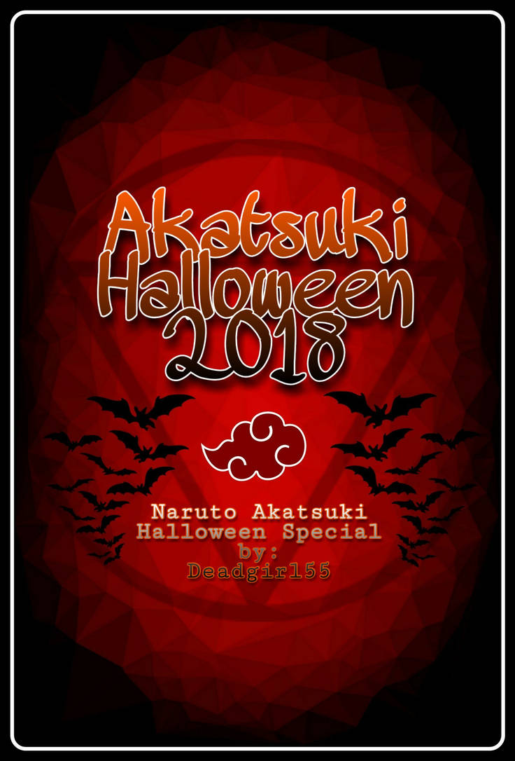Naruto Akatsuki Halloween Special 2018 Cover Photo