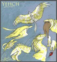 Character Sheet: Yehch by zilowar