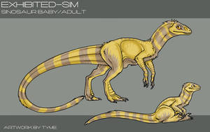 EX: Sinosaur by zilowar