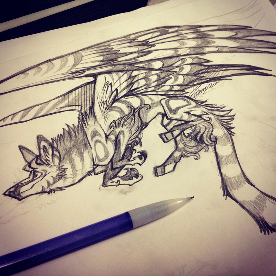 Xaraki doodlepoodle by zilowar