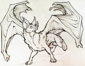 Bat-taur Prize Sketch