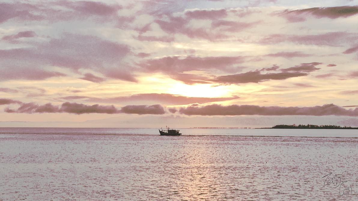 Brunei Sunrise by Zachtan1234