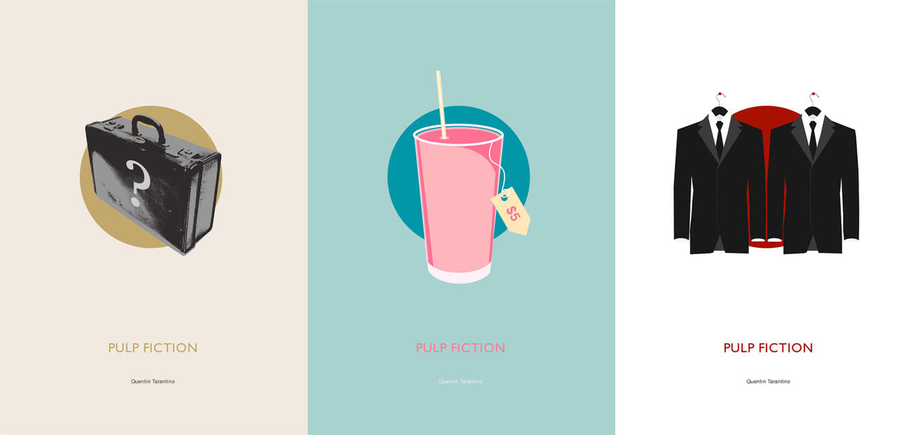 Pulp Fiction Posters by cutthekidsinhalf