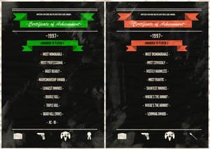 Goldeneye Multiplayer Awards