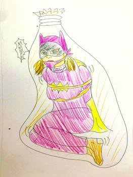batgirl   bondage by sigaraki