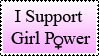 Stamp: Girl Power by BlueBunny99