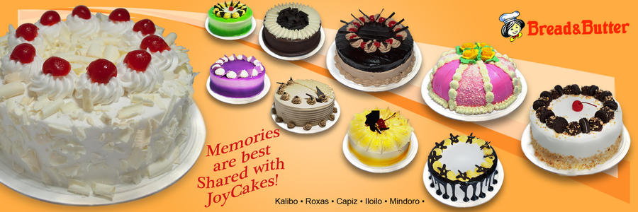 Cake Banner Layout Design study by pitompungkalabasa