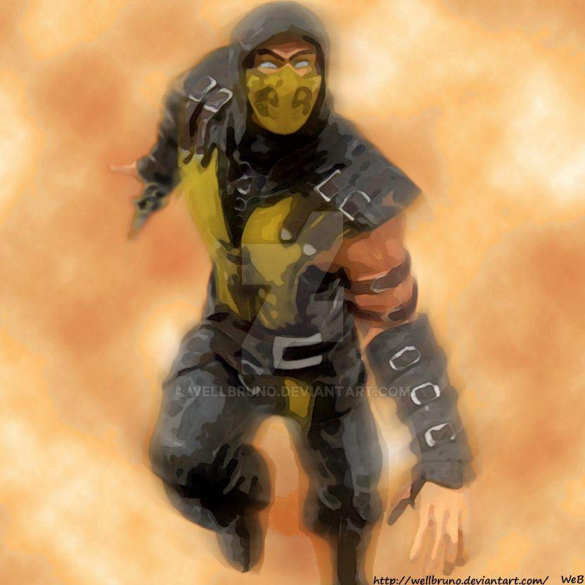 Scorpion by wellbruno