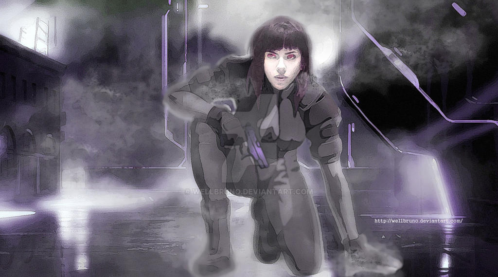 Scarlet Ghost in the Shell by wellbruno