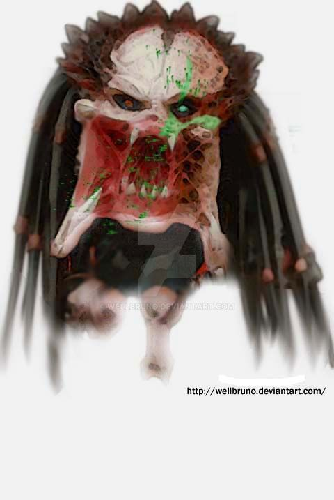 Predator face by wellbruno