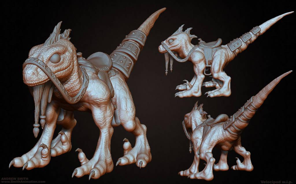 Velocipod Sculpt by Art-by-Smitty