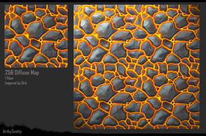 Hand Painted Texture - 02 by Art-by-Smitty