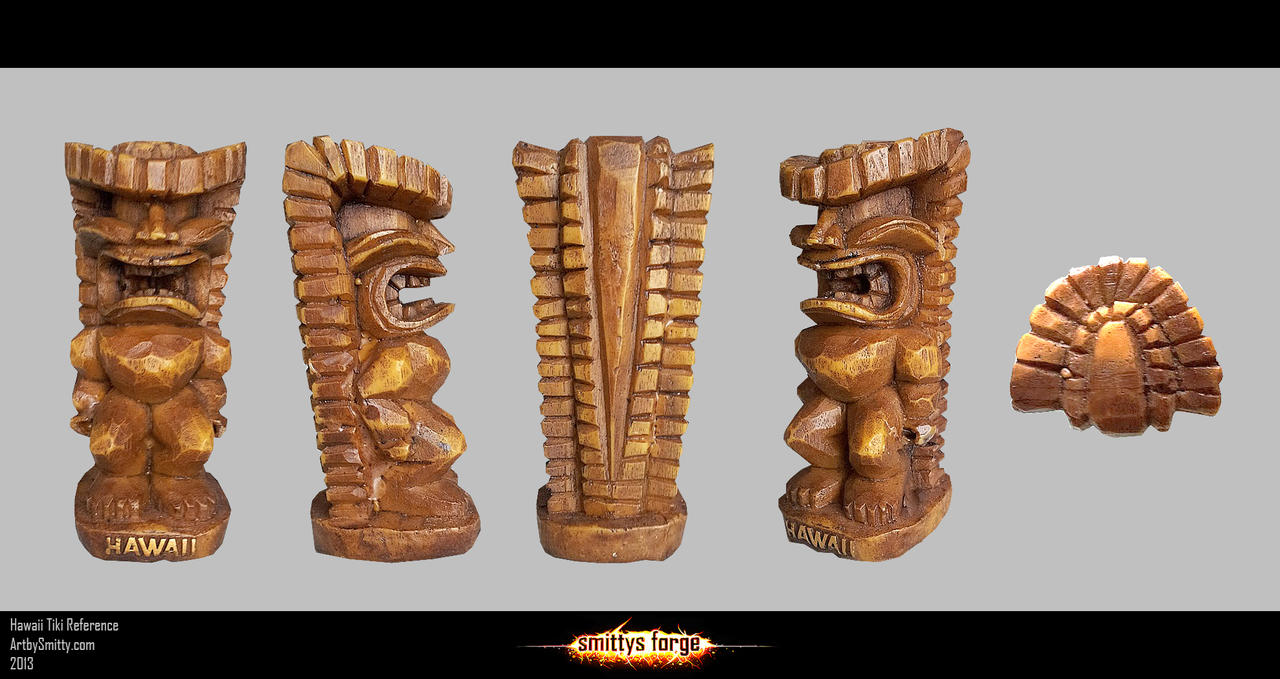 Reference - Hawaii Tiki by Art-by-Smitty
