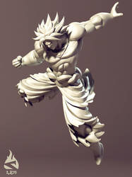 Broly - wip8 by Art-by-Smitty