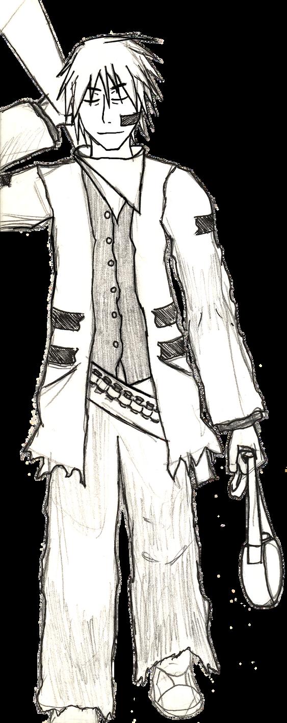 Spencer Swift Proto Drawing by Kai-suke
