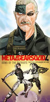 Metal Gear Solid 4 by MaxGrecke