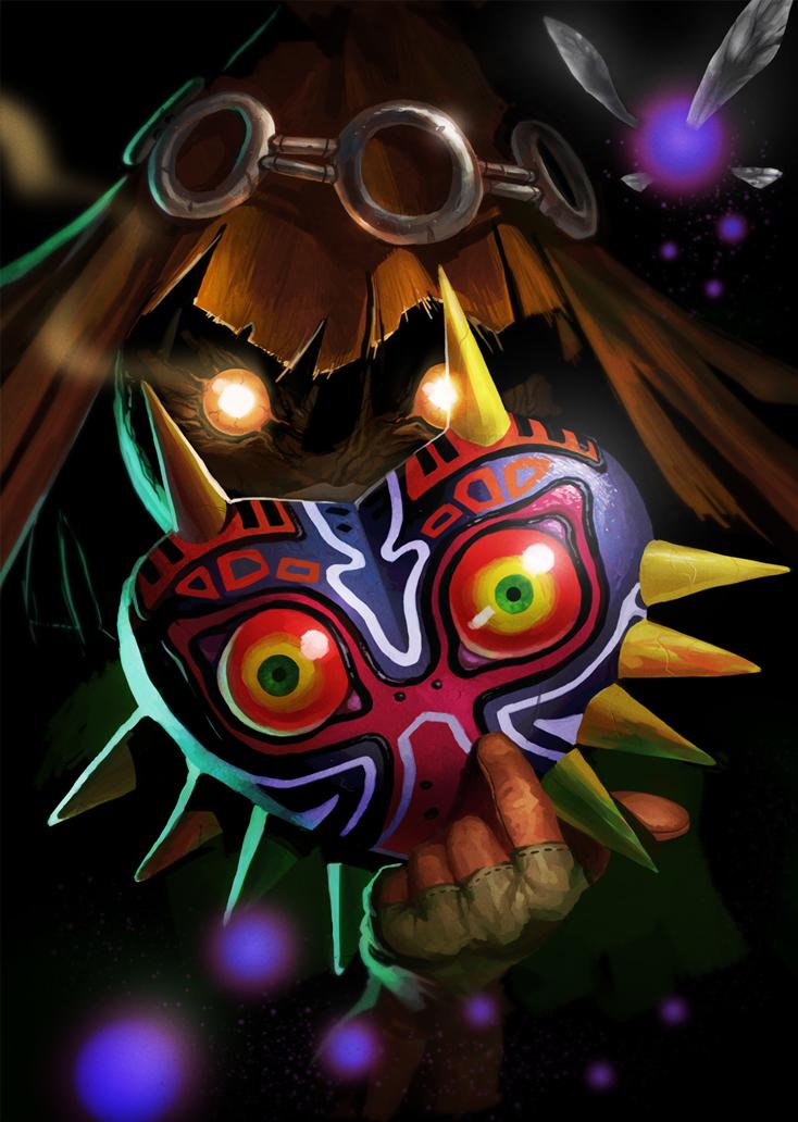 Majoras Mask: Skullkid by MaxGrecke
