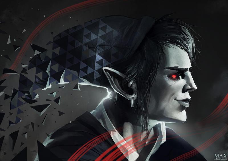 Dark Link by MaxGrecke