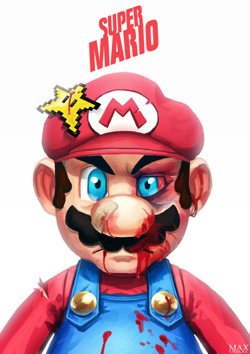 Beat Up Mario by MaxGrecke