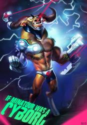 Cyborg Minatour by MaxGrecke