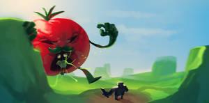 Tomato golem