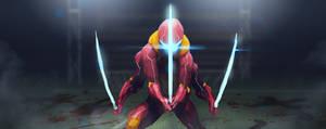 Cyborg Swordsma