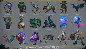 Zelda OoT Creatures 1