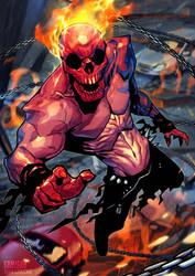 Ghost Rider Comicon Challenge by MaxGrecke