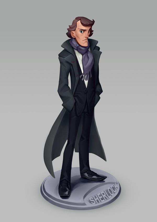 Sherlock by MaxGrecke