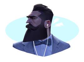 Head study2 by MaxGrecke