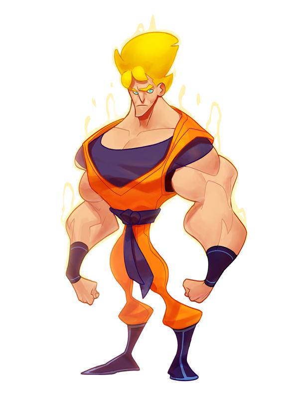 Goku by MaxGrecke