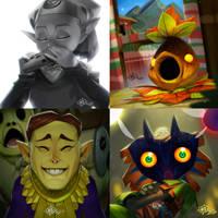 Majoras Mask Cutscenes by MaxGrecke