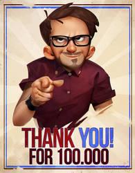 100.000 by MaxGrecke