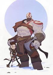 God of War Kratos by MaxGrecke