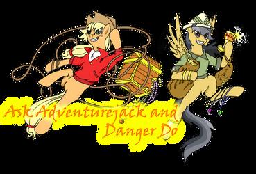 Ask AJ and DD Tumblr Banner by NinjaUrochi