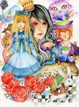 Alice in Wonderland by Hachiyo