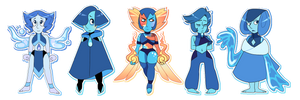 [CLOSED] Lapis Chibi Batch by Booty-Bae-Adopts