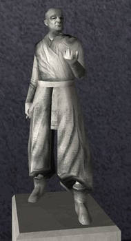 Statue Of Ajunta Pall