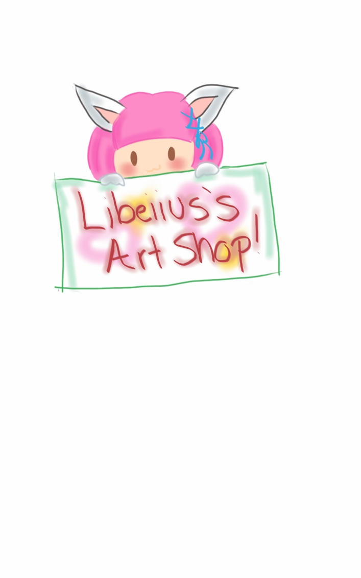 official art shop sign by Marli-Love