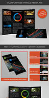 Corporate Trifold Template 03