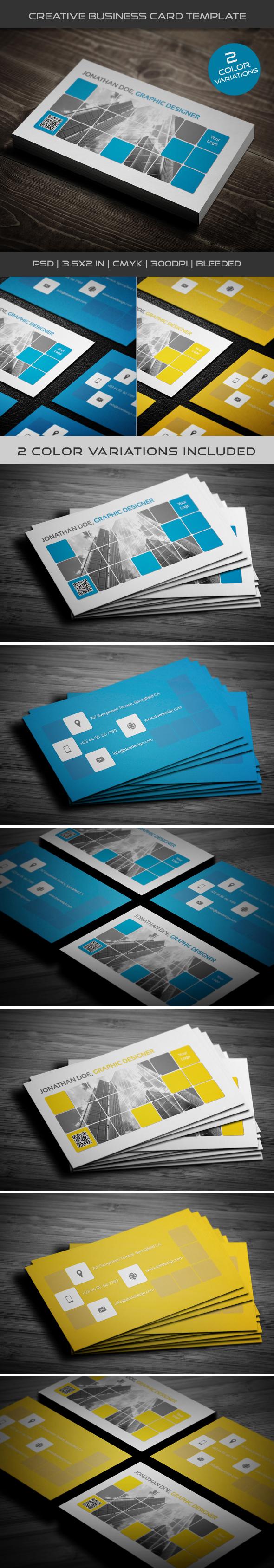 Creative Business Card Template 04