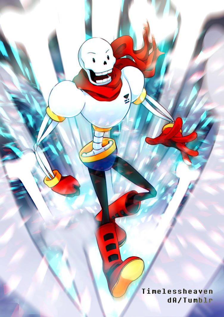 THE GREAT PAPYRUS - Undertale by TimelessHeaven on DeviantArt