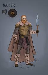 Haldur, Captain of Stunden by adamclark