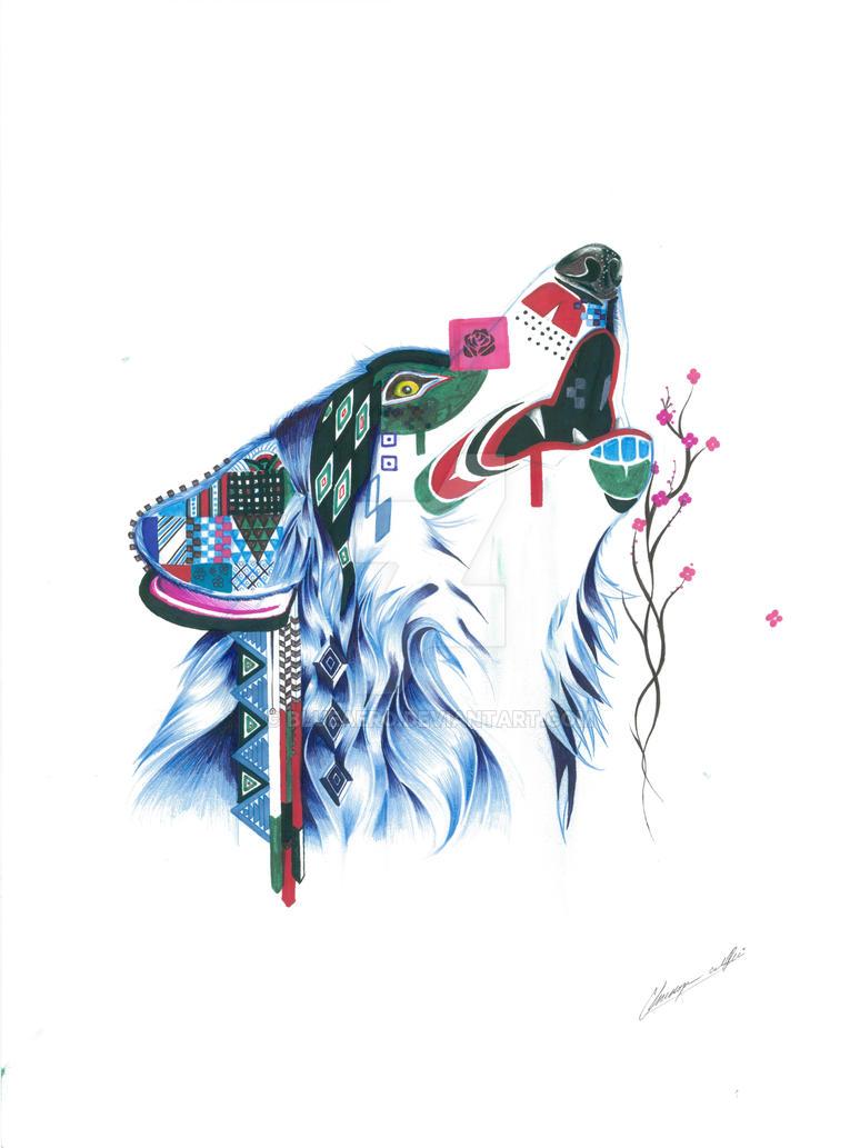 Totem Wolf by BlueAero